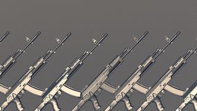 AK rifles stock images