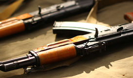 AK-74 Royalty Free Stock Photography