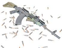 AK-47 Royalty Free Stock Photo