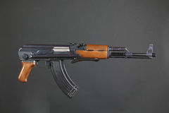 ak47 gevär royaltyfria foton