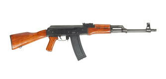 AK47 isolated Stock Photography
