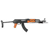 AK47 Kalashnikov Assault Rifle Stock Photography