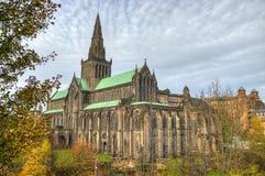 Aka alto Kirk della cattedrale di Glasgow del mungo di Glasgow o della st Kentigern o della st fotografie stock libere da diritti