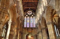 Aka haut Kirk de cathédrale de Glasgow du mungo de Glasgow ou de rue Kentigern ou de rue Image libre de droits