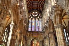 Aka haut Kirk de cathédrale de Glasgow du mungo de Glasgow ou de rue Kentigern ou de rue Photos libres de droits