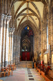 Aka haut Kirk de cathédrale de Glasgow du mungo de Glasgow ou de rue Kentigern ou de rue Photographie stock