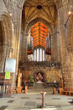 Aka haut Kirk de cathédrale de Glasgow du mungo de Glasgow ou de rue Kentigern ou de rue Photo libre de droits