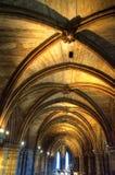Aka haut Kirk de cathédrale de Glasgow du mungo de Glasgow ou de rue Kentigern ou de rue Photographie stock libre de droits