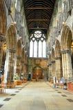 Aka haut Kirk de cathédrale de Glasgow du mungo de Glasgow ou de rue Kentigern ou de rue Image stock