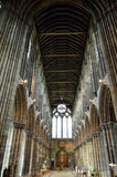 Aka haut Kirk de cathédrale de Glasgow du mungo de Glasgow ou de rue Kentigern ou de rue Photo stock