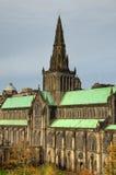 Aka haut Kirk de cathédrale de Glasgow du mungo de Glasgow ou de rue Kentigern ou de rue Photos stock