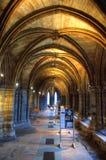 Aka haut Kirk de cathédrale de Glasgow du mungo de Glasgow ou de rue Kentigern ou de rue Images stock