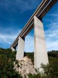 Aka italiano elevado Autostrada da estrada Fotos de Stock Royalty Free