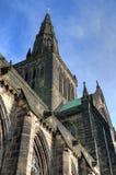 Aka Kirk elevado da catedral de Glasgow do Mungo de Glasgow ou de St Kentigern ou de St fotografia de stock royalty free