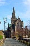 Aka Kirk elevado da catedral de Glasgow do Mungo de Glasgow ou de St Kentigern ou de St fotos de stock royalty free