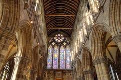 Aka Kirk elevado da catedral de Glasgow do Mungo de Glasgow ou de St Kentigern ou de St imagem de stock royalty free
