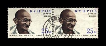Aka Mohandas Karamchand Gandhi, beroemde Indische activist, de Indische leider van Mahatmagandhi 1869-1948 van de onafhankelijkhe royalty-vrije stock foto