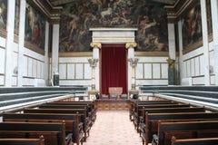 Akademi av konst, nationellt arkiv, bank av Grekland, Aten, Greec Arkivfoton