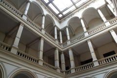 Akademi av vetenskaper och konster i Zagreb, arkivbilder
