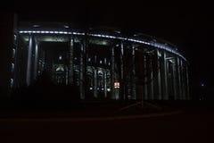 Akademi av vetenskaper på natten royaltyfri foto