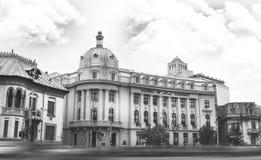Akademia Ekonomiczny studiów budować fotografia stock