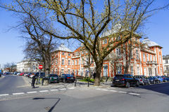 Akademia sztuki piękna w Czapski pałac, Warszawa Zdjęcia Royalty Free