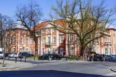 Akademia sztuki piękna w Warszawa w Czapski pałac Zdjęcie Royalty Free