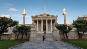 Akademie der Athen-Zeitspanne stock video footage