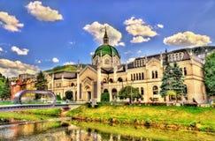 Akademin av konster i Sarajevo Royaltyfri Foto