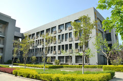 Akademisches Gebäude der nordwestlichen polytechnischen Universität stockfotos