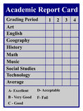 Akademisches Schulzeugnis Lizenzfreie Stockfotos