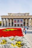 Akademisches Theater Nowosibirsk-Staates der Oper und des Balletts Novosibi Stockfotografie