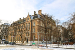 Akademisk högstadium Wien Arkivfoton