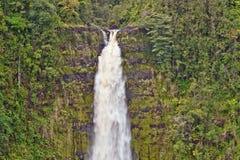 akaka duży spadek Hawaii wyspa Obraz Stock