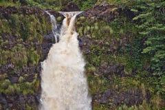 akaka duży spadek Hawaii wyspa Obraz Royalty Free