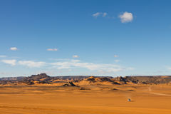Akakus (Acacus) Mountains, Sahara, Libya Stock Images