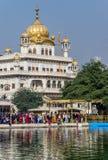 Akal Takht, Sikhijski Polityczny zgromadzenie budynek, Amritsar, India obraz royalty free