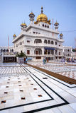 Akal Takht - temple d'or d'Amritsar - Inde Images stock