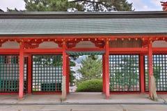Akama Shrine in Shimonoseki, Japan. The Akama Shrine in Shimonoseki, Japan Royalty Free Stock Image