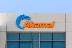 Akamai大厦在硅谷 库存照片