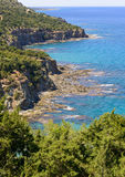 Akamas area coastline in cyprus 3 Royalty Free Stock Images