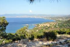 Akamas District. Akamas Penisula. Chrysochou Bay in Cyprus Stock Photos