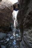 Akamas gorge Stock Images