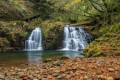 Akame 48 vattenfall Royaltyfria Bilder