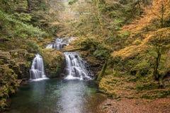 Akame 48 vattenfall Fotografering för Bildbyråer