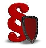 Akapit osłona i symbol Zdjęcie Royalty Free