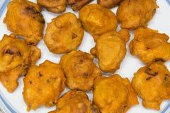 Akara, das Endprodukt; ein populäres Lebensmittel in Nigeria stockfotos
