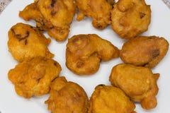 Akara ist ein Heftklammerfingerfood in Nigeria und in die meisten von West-Afrika stockbilder
