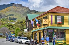 Akaroa Photo stock
