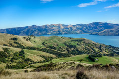 Akaroa - Banks Peninsula - New Zealand Stock Image